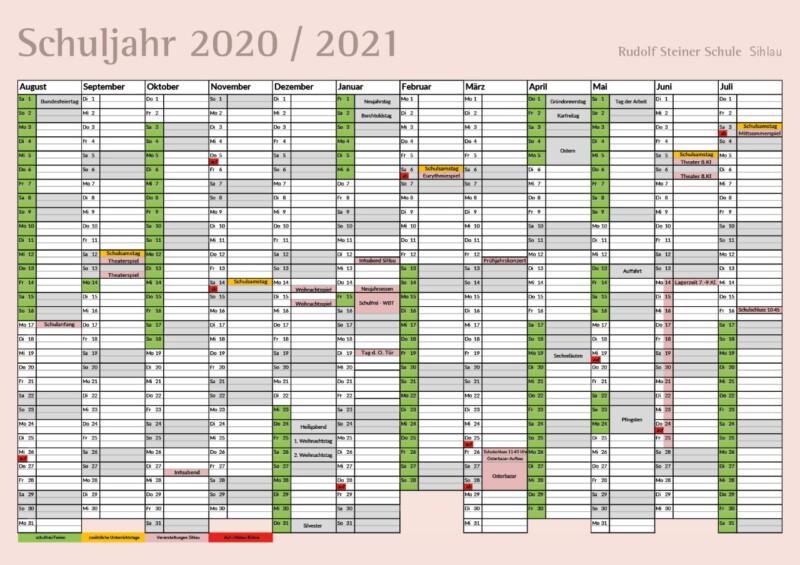 Schuljahr 2021 Ferien Bw 2021 : Ferienkalender Markgrafen ...